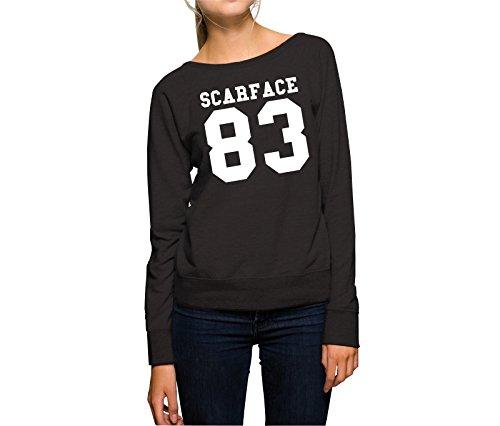 Certified Freak Scarface 83 Sweater Girls Black-S