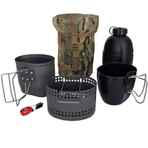 BCB cn014b Crusader MK II Kochen System 6-teiliges Set mit Tasche