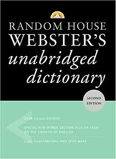 Random House Webster's Unabridged Dictionary, Second Edition