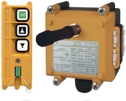 Sling All-in-One MINI Elektro-Seilzug mit Trolley PA Mini Block Gowe 300/kg//600kg 20/m Kran 220/V 50/Hz-
