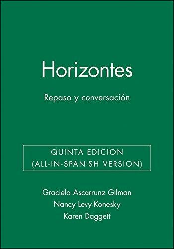 Horizontes: Repaso y conversaci?n, Activities Manual (Spanish Edition)