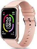 MorePro Fitness Tracker, Activity Tracker with Blood Pressure & Heart Rate Monitor, IP68 Waterproof Smart Watch for Women Men, Smartwatch Sleep Tracker with Music Control Weather Display