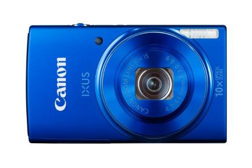 Canon IXUS 155 Digitalkamera (20 MP, 10-Fach Opt. Zoom, 6,8cm (2,6 Zoll) LCD-Display, HD-Ready) blau