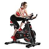 Dripex Vélo d'Appartement Cardio Vélo Spinning Appareil Fitness Sport Abdominal Dos Bras, Anti-Résistance Pouls à la...