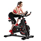 Dripex Vélo d'Appartement Cardio Vélo Spinning Appareil Fitness Sport Abdominal...