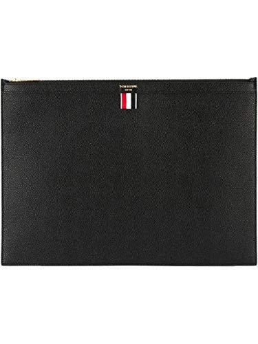Thom Browne Luxury Fashion Uomo MAC020L00198001 Nero Pelle Pochette | Autunno-inverno 20