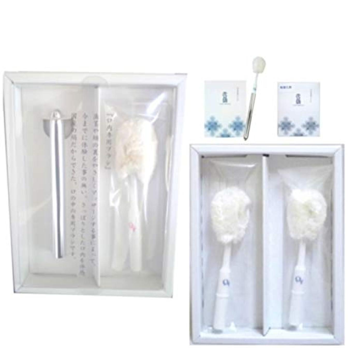 困惑傑作蓄積する雪繭 口内専用ブラシ(本体セット)&専用レフィル(2本入) セット