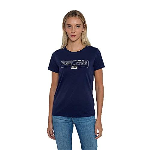 Pepe Jeans Betty Camiseta, 583THAMES, Medium para Mujer