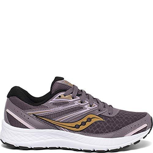 Saucony womens Cohesion 13 Running Shoe, Dusk/ Blush, 10.5 US