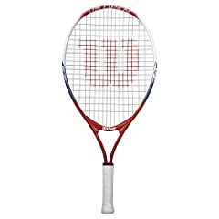 Aluminum RACquet Approved for tennis players 10 and under ages : youth 7 to 8 Strung racquet without a cover