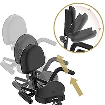 Folding Magnetic Upright Exercise Bike with Pulse (X81903)