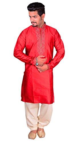 Desi Sarees Bordado de Hilo Indio Kurta de los Hombres Salwar Kameez Pajama Sherwani 789