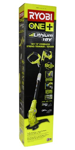 Ryobi P2060 One+ 18v Lithium-Ion 12in. String Trimmer/Edger Kit