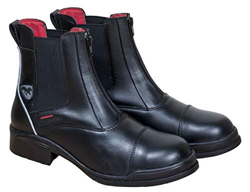 Karlslund Fina Jodhpur - Stivali di Sicurezza, Nero (Nero), 38 EU