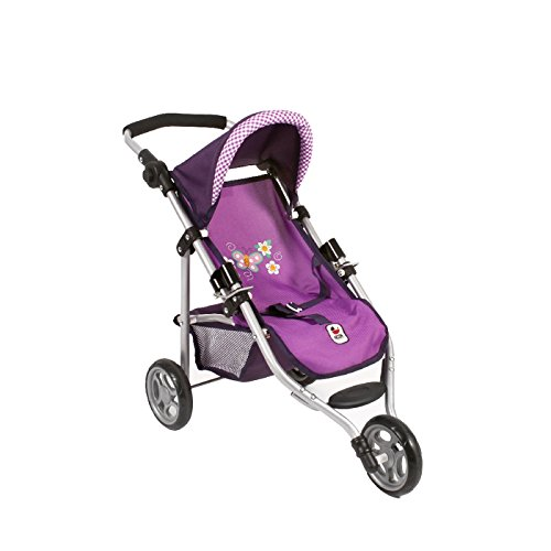 Bayer Chic 2000 612 28 - Jogging-Buggy Lola, Purple Checker, Lila