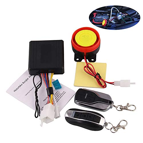 MeterMall Auto For Remote Control Alarm Motorcycle Security System Motorcycle Theft Protection Bike Moto Scooter Motor Alarm System