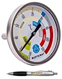 Beste Angebote Thermomètre de distillation 20-110 °C pour distillation