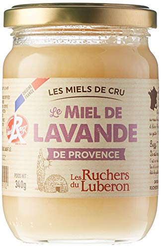 Les Ruchers du Luberon Miel de Lavande de Provence IGP/Label Rouge 340 g