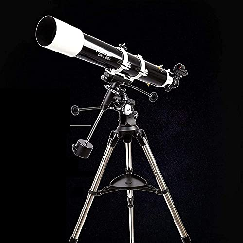Telescópios Astronomia Profissional de 80 mm, Abertura de 900 mm, Comprimento Focal, Montagem AZ, Telescópio Portátil de Viagem com Tripé Baifantastic