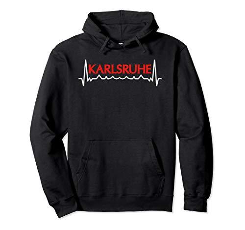 Mein Herz Schlägt Für Karlsruhe T-Shirt I Karlsruhe Souvenir Pullover Hoodie