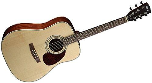 Cort Earth 70 (E70NS) Gitarre aus Naturholz, seidig glänzend