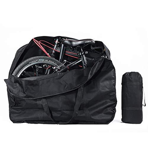 Lesrly-Cycle Bolsa de Bicicleta Plegable de 20 Pulgadas, Maleta a Prueba de...