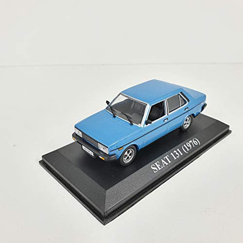 Desconocido 1/43 Auto Coche Car Seat 131 Azul 1973 ALTAYA