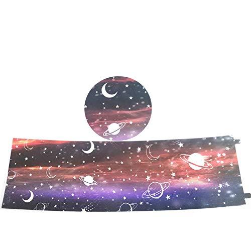 LED Starry Cielo IRAQUÍDO IRAQUES PROYECTOR DE LA Noche Colorida Light DORMENTO LUZ Cuenta Creativa REVELO LUZ Starry STELY (Star and...