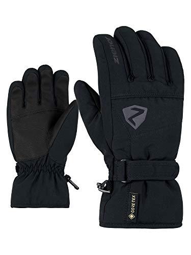 Ziener Kinder LAGO GTX glove junior Ski-handschuhe/Wintersport | Wasserdicht, Atmungsaktiv, black, 6,5