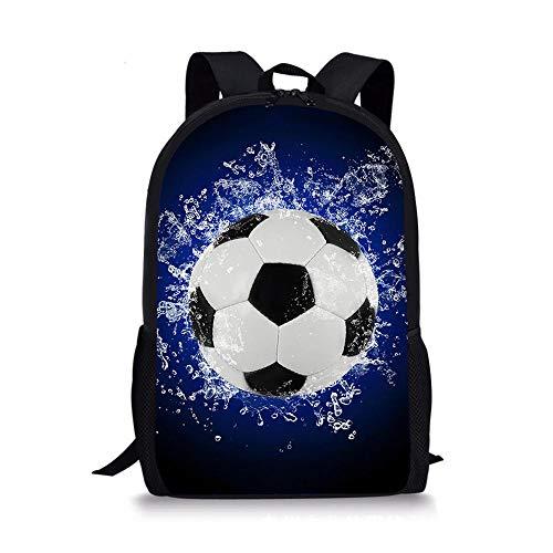 HUANIU Children's Backpack 3d Bright Basketball Backpack Cartoon Super Light Student School Bag Shoulder Bag Travel Backpack Computer Bag Large Capacity D- 15in * 10.7in * 4.2in