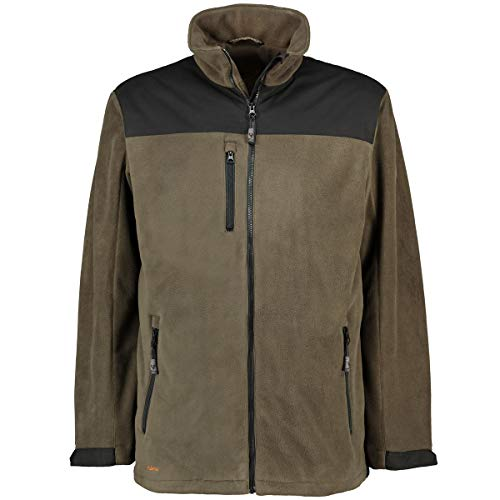 Hubertus Herren Windstopper Fleece-Jacke Oliv_328 8XL