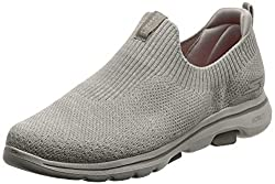 in budget affordable Women's Shoes Skechers GO Walk 5-15952, Taupe, 10 M US