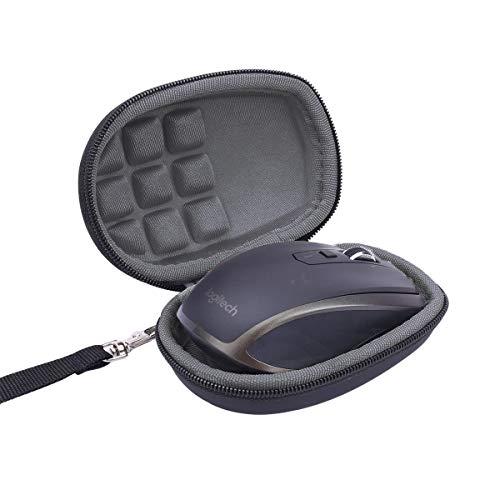Flycoo - Funda rígida para Logitech MX Anywhere 1 2 Gen 2S, diseño de ratón Sano, Color Negro