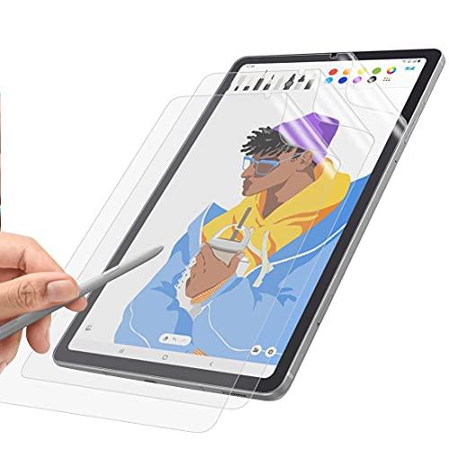 WEOFUN [3 Stück] Bildschirm Schutzfolie Kompatibel mit Samsung Galaxy Tab S6 lite, [Kratzfest] [Matte Textur][Reibungslose Handschrift]