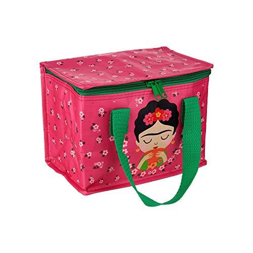 Sass & Belle Borsa merenda Frida Kahlo Rosa, Multicolore, Unica