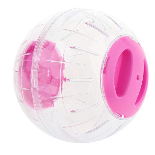 B Blesiya Hamsterball Mäuseball Joggingball Laufkugel Kleintier Laufball Ø 12 cm - Rosa