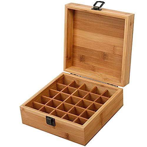 GYAM Caja de Recuerdos de Madera, gabinete de Almacenamiento Artesanal Múltiples Compartimentos de Gran Capacidad, adecuados para joyería y Frutas para Mujeres