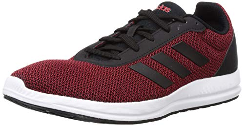 4. Adidas Men's Furio LITE 1.0 M Scarle/CBLACK Running Shoes