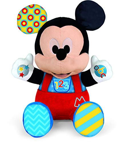 Baby Disney - Peluche Baby Mickey (Clementoni 55324)
