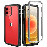 OWKEY for iPhone 12 Mini Case 5.4″, [Military Grade Drop]