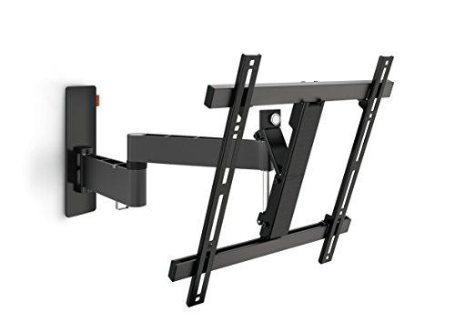 Vogel's Wall 2245 TV-Wandhalterung für 81-140 cm (32-55 Zoll) Fernseher, drehbar und neigbar, max. 20 kg, Vesa max. 400 x 400, schwarz