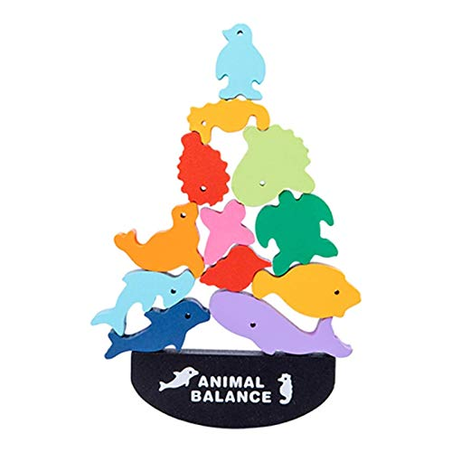 Cucheeky Animal Balance Bloques de construcción 