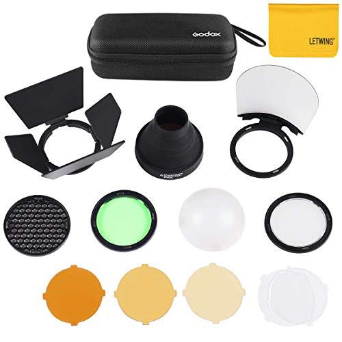 Godox AK-R1 Taschenlampen Zubehör für Godox H200R Godox AD200 Zubehör and V1C V1S V1F Round Head Camera Flash