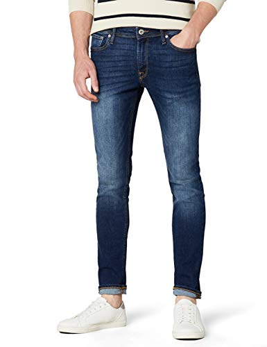 JACK & JONES Herren Liam Original Am 014 Jeanshose, Blue Denim, 32W / 34L