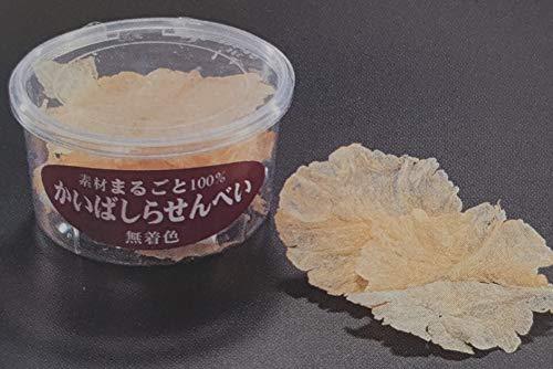 まるごと貝柱せんべい  ( タッパ ) 無着色 12g×48本 イタヤ貝 業務用 売店