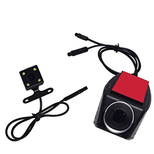 Auto, Das Kamera-RüCkfahrkamera-Wasserdichte Nachtsicht-AusrüStung, Neue Vordere Und Hintere Doppelkamera FüR Autos 170 Wide Angle 720P Driving Recorder RüCkgäNgig Macht
