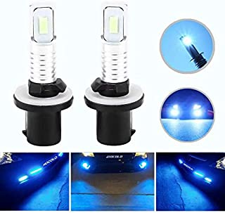 HOCOLO 2x 880 892 893 890 884 885 892 899 LED Bulbs DRL Fog Driving Light Brighting Daytime Running Lamp Replace Halogen 3570 CSP Chips Car Vehicle Parts Plug-N-Play High Power(880_Fog,Ice Blue/8000K)