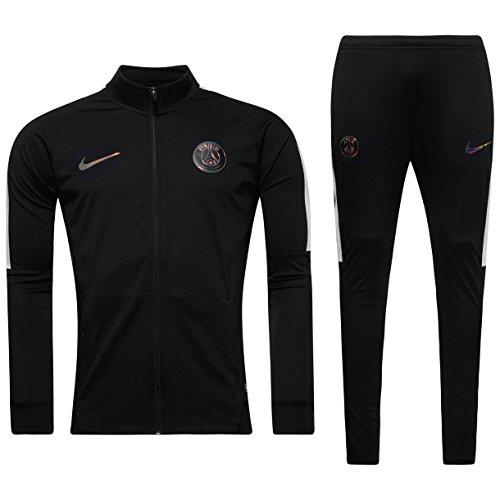 Nike PSG Y NK Dry TRK Suit Sqd K - Survêtement Garçon, Couleur Noir, Taille XL