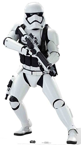 Pappaufsteller Stormtrooper - The Force Awakens - Star-Wars Höhe ca. 172cm Aufsteller Figur Kinoaufsteller Pappfigur Cardboard Lebensgroß Life-Size Standup