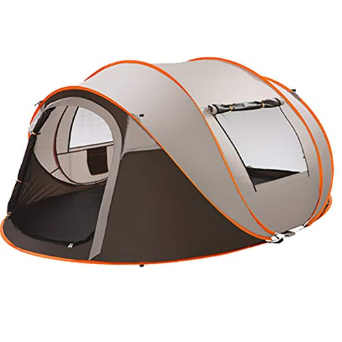 MY Zelt 2-6 Personen Wasserdicht, Pop-Zelte Familienzelt Riesiges Camping Zelt Doppelwandig Wurfzelt Shelteroutdoor Instantánea 4-Mann